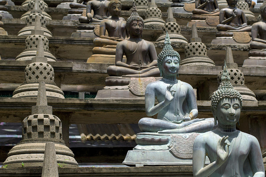 Buddhist Statues Photograph by Tanukiphoto