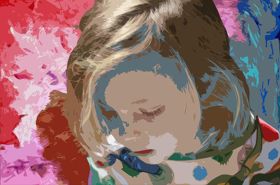 Artist Mixed Media - Budding Artist by Ellen Henneke
