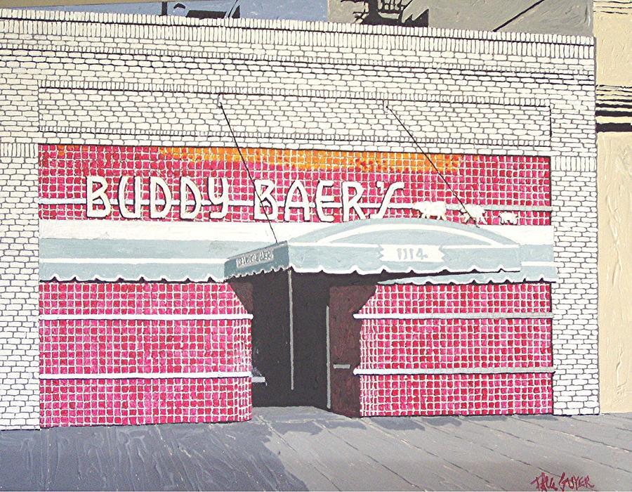 Sacramento Painting - Buddy Baers by Paul Guyer