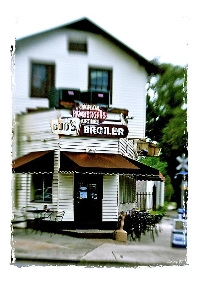 Restaurant Photograph - Buds Broiler by Scott Pellegrin