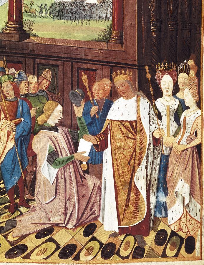 Vertical Photograph - Bueil, John V Of 1406-1477. Charles by Everett