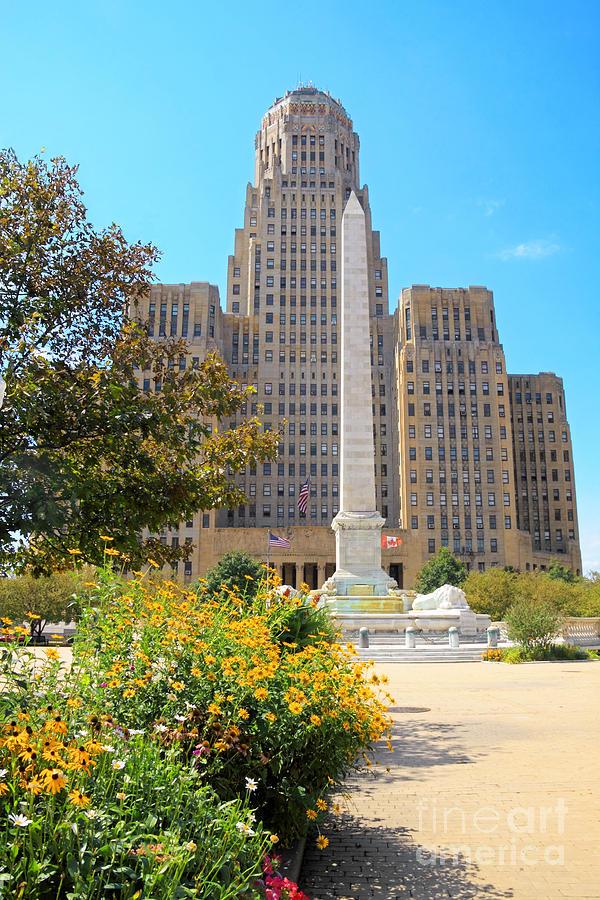 Buffalo Photograph - Buffalo City Hall by Charline Xia