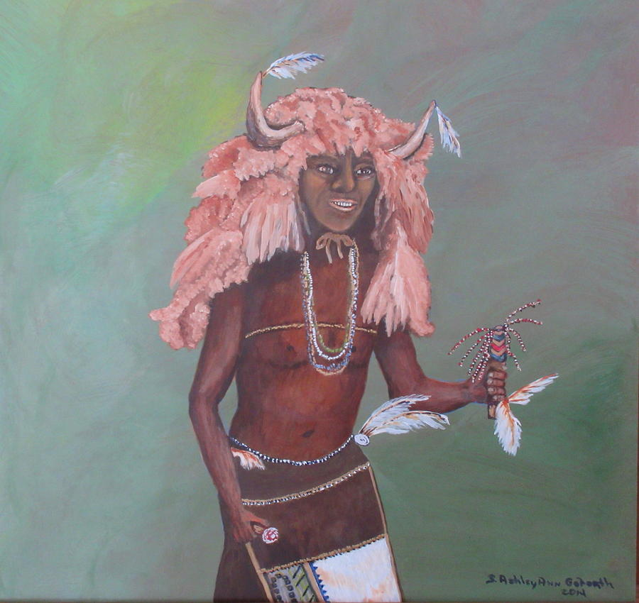 Buffalo Dancer by Ashley Goforth