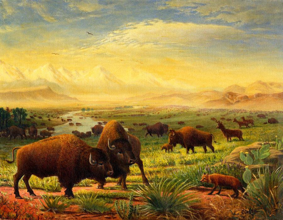 Great plains landscape wallpaper