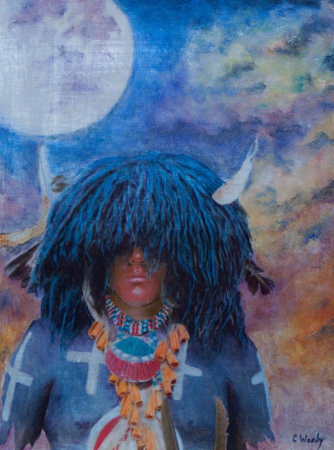 Buffalo Snow Moon Prayers by Carla Woody