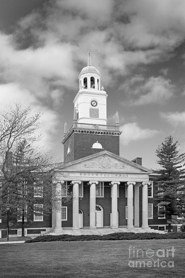 Buffalo Photograph - Buffalo State College Rockwell Hall by University Icons