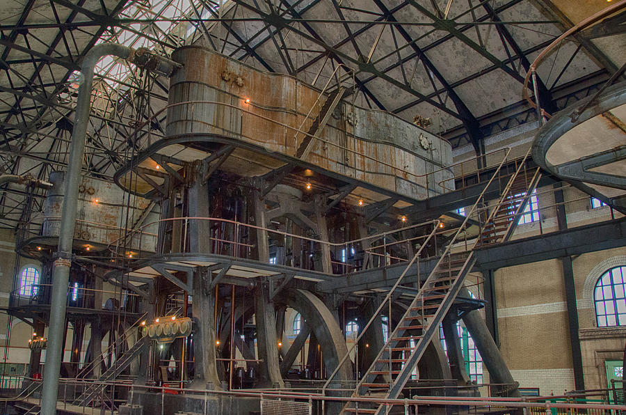 Buffalo Water Pumping Station Photograph By Guy Whiteley