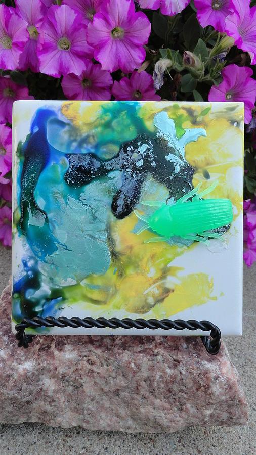 Maddie Painting - Bug Exterior 1 by Madigan Lang