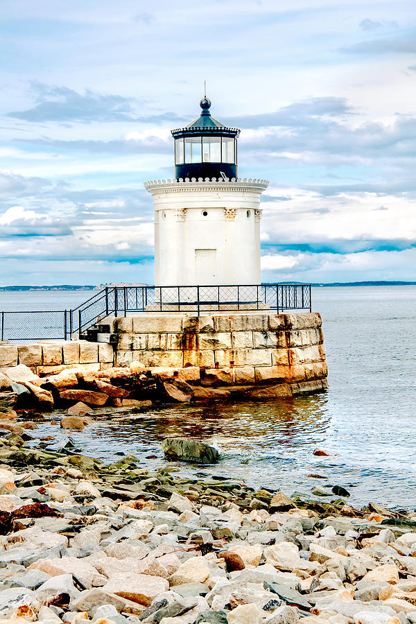 Mountains Photograph - Bug Light Study by Greg Fortier