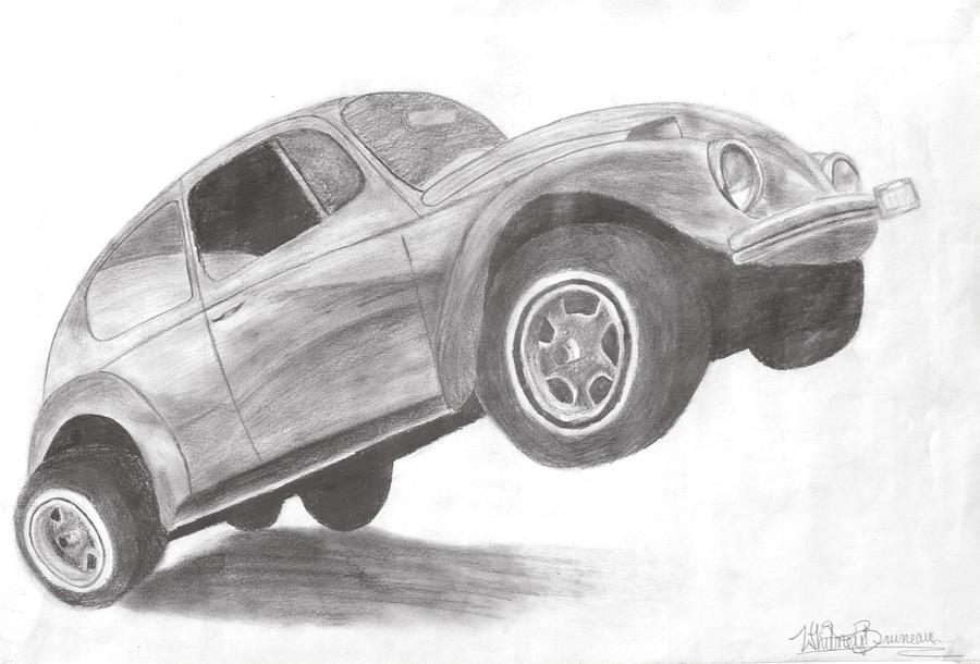 Arts Drawing - Bug by Whitney Nanamkin