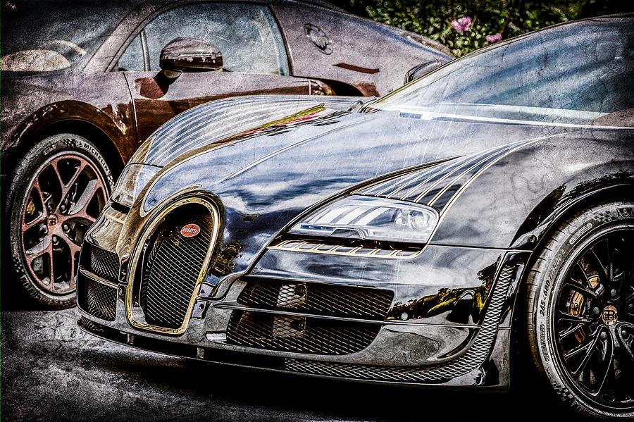 bugatti legend veyron special edition 0845ac photograph by jill reger. Black Bedroom Furniture Sets. Home Design Ideas