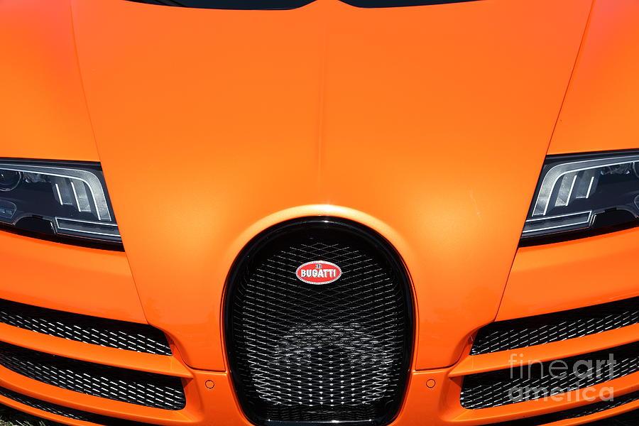 Transportation Photograph - Bugatti Veyron - 5D22869 by Wingsdomain Art and Photography