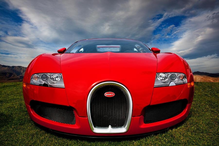Automobile Photograph - Bugatti Veyron by Peter Tellone