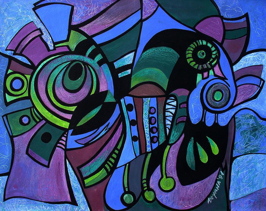 Bugs Painting - Bugs by Deyana Deco