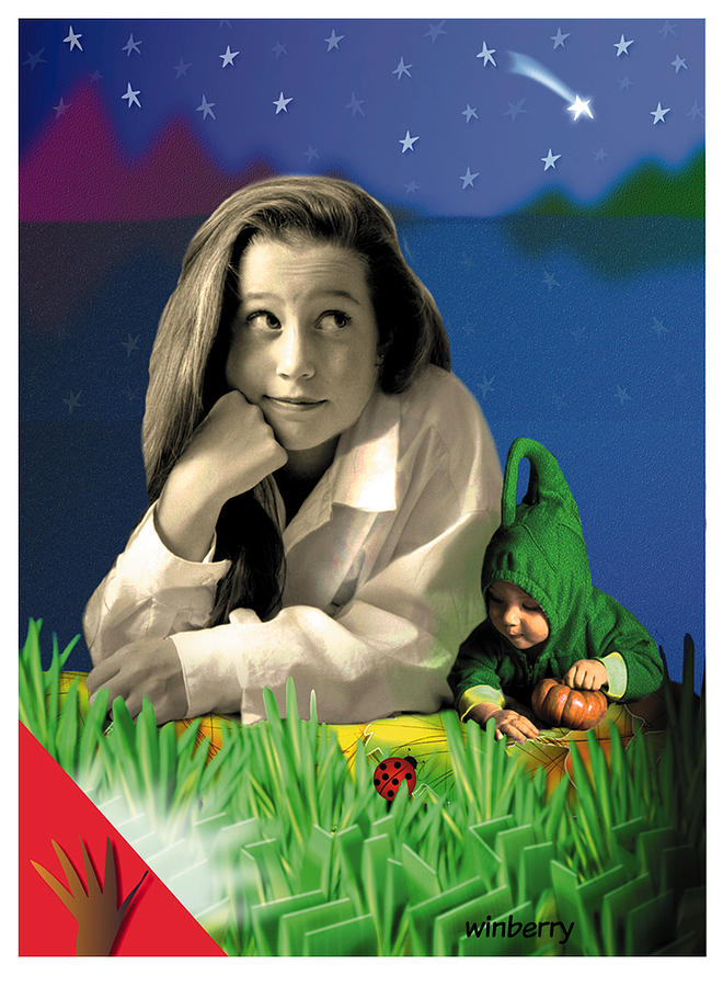 Winberry Digital Art - Bugs To Stars by Bob Winberry