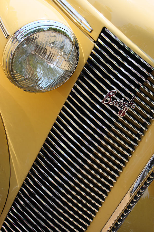 Buick Photograph - Buick8 by Rebecca Cozart