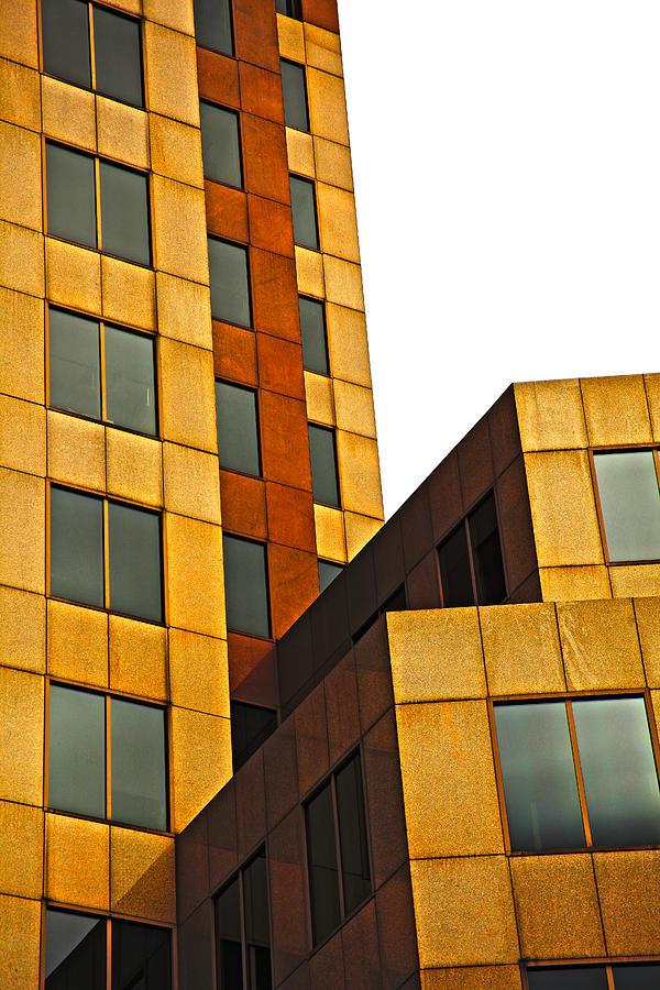 Building Photograph - Building Blocks by Karol Livote
