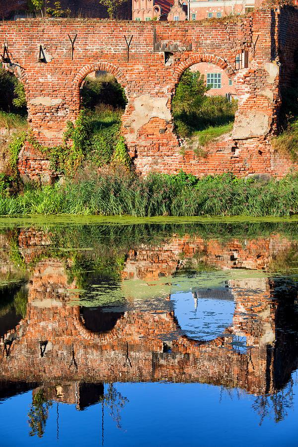 Gdansk Photograph - Building Destroyed During World War II by Artur Bogacki