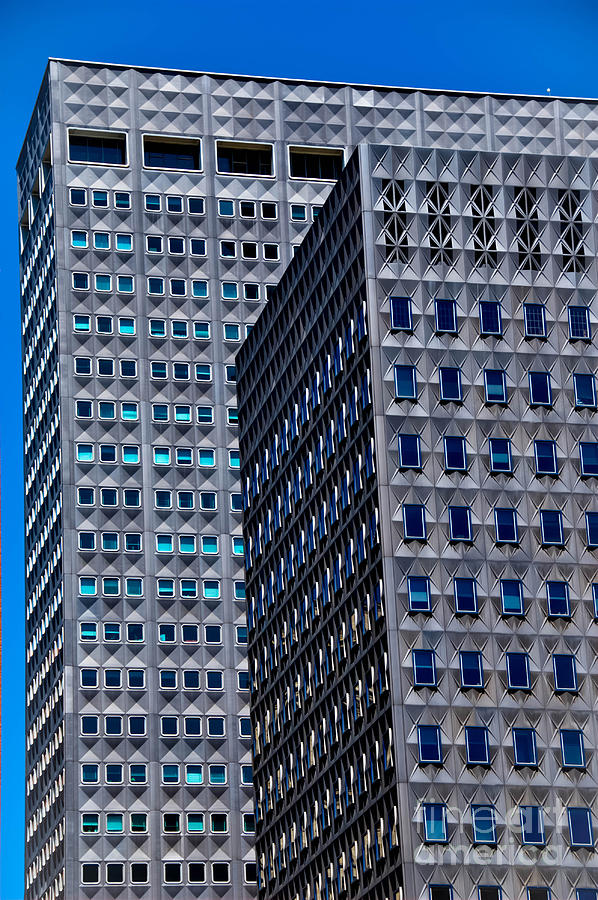 Alcoa Photograph - Buildings Downtown Pittsburgh by Amy Cicconi