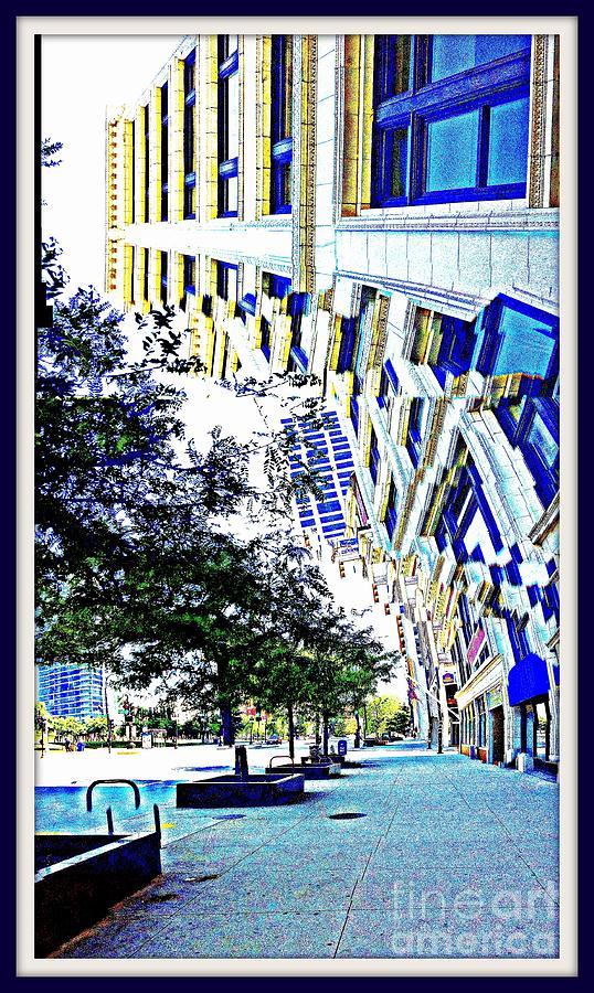Michigan Ave Photograph - Buildings In Flux by Scott Dixon