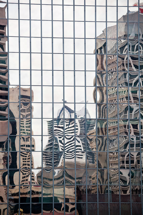 Buildings Reflected In Mirrored Windows Photograph by Tobias Titz