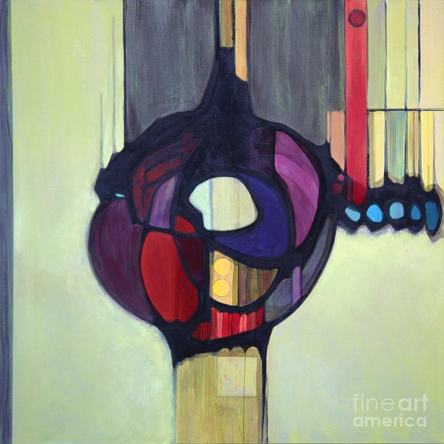 Bold Color Painting - Bulbosity by Marlene Burns