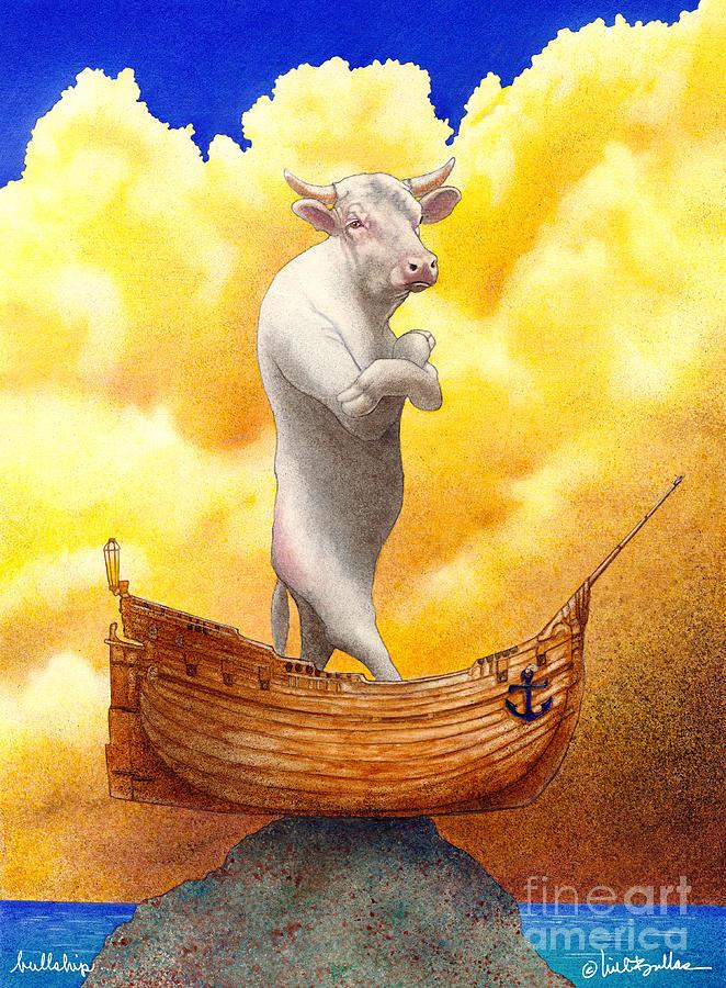 Will Bullas Painting - Bullship... by Will Bullas