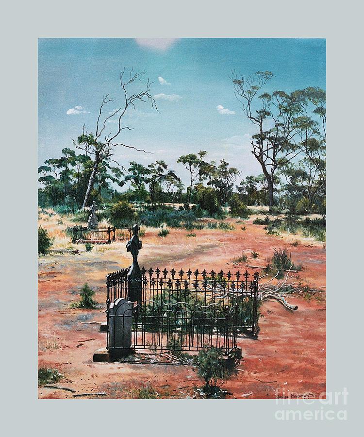 Bulong Painting - Bulong-w.a- by Caroline Beaumont