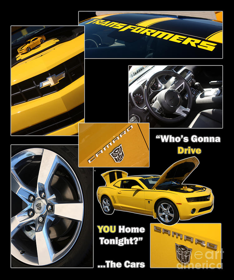 Camaro Photograph - Bumble Bee-drive - Poster by Gary Gingrich Galleries