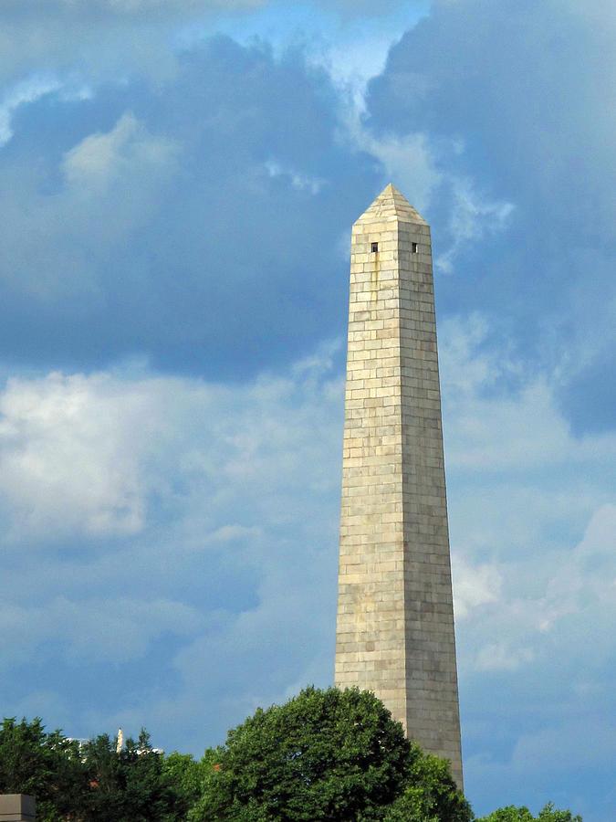 Monument Photograph - Bunker Hill Monument by Barbara McDevitt