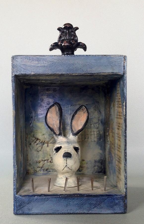 Rabbit Mixed Media - Bunners by Susan McCarrell