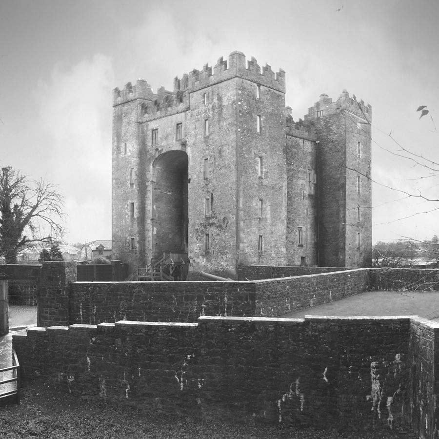 Bunratty Castle Photograph - Bunratty Castle - Ireland by Mike McGlothlen