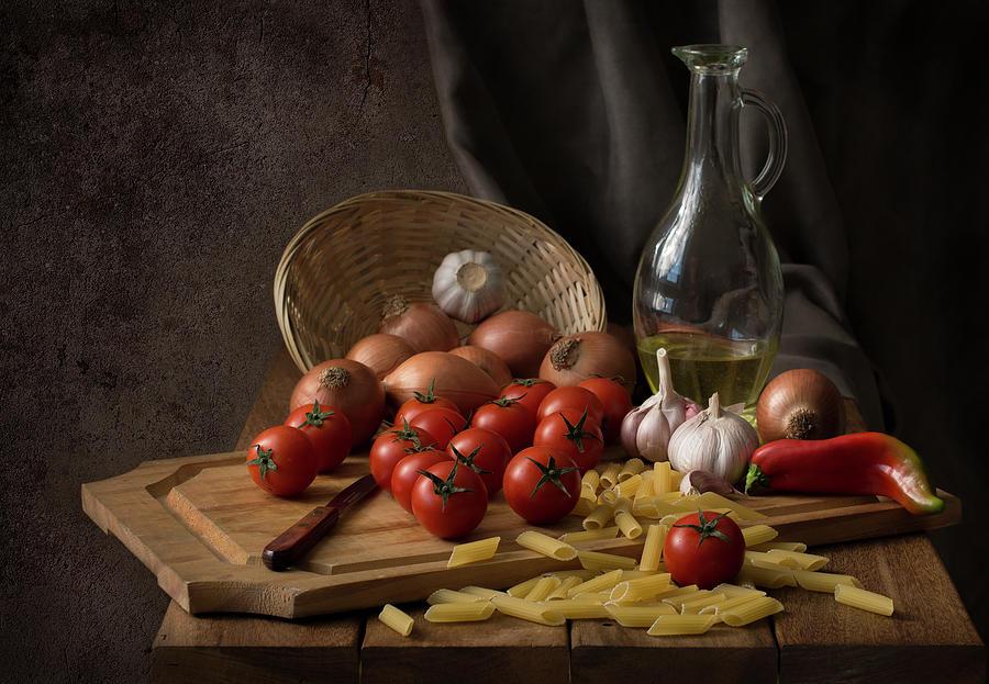 Textures Photograph - Buon Appetito... by Margareth Perfoncio