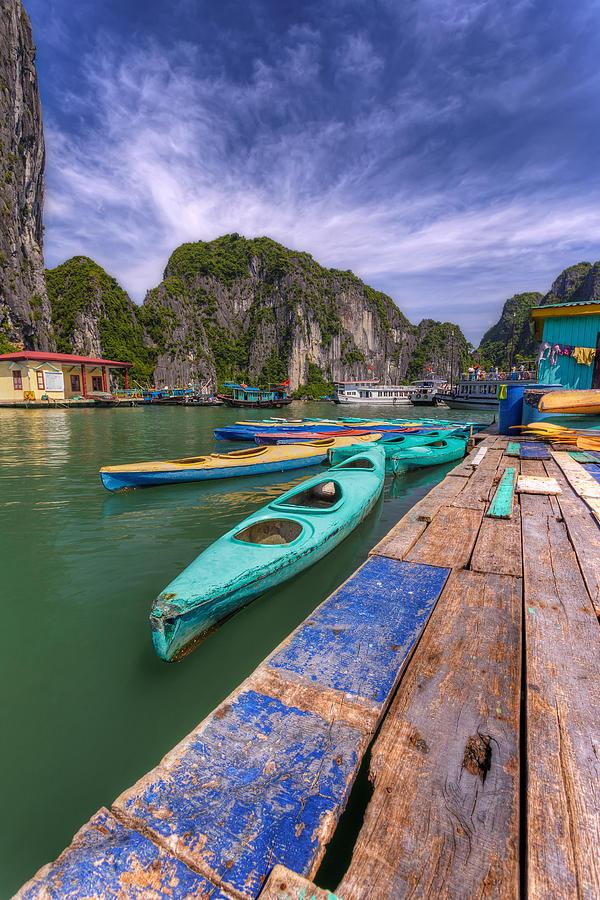 Ha Long Bay Photograph - Buoyant Force by Mario Legaspi