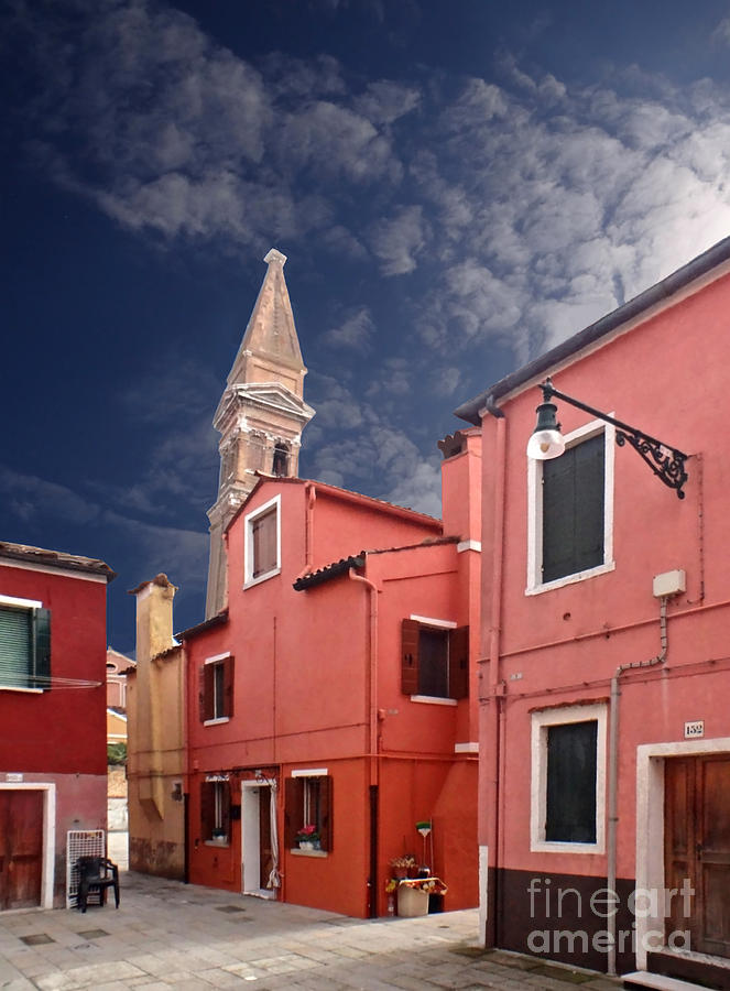 Burano Photograph - Burano 10 by Giorgio Darrigo