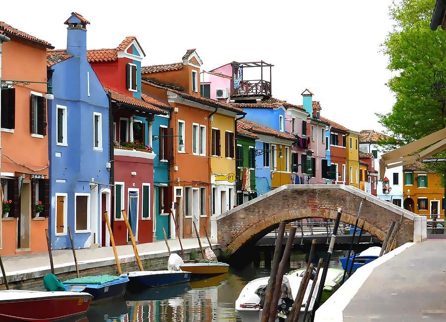 Burano Island Venice Photograph