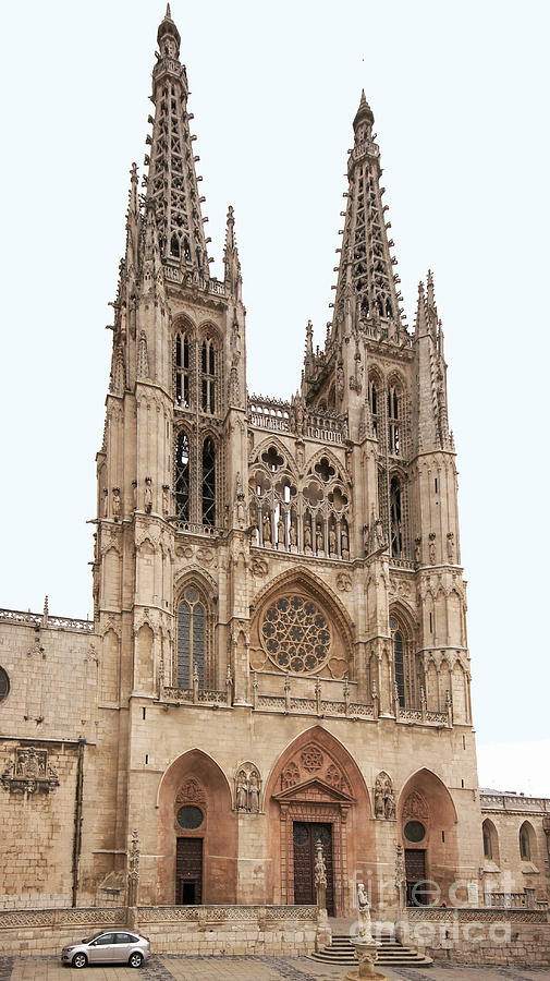 Europe Photograph - Burgos Cathedral Spain by Rudi Prott