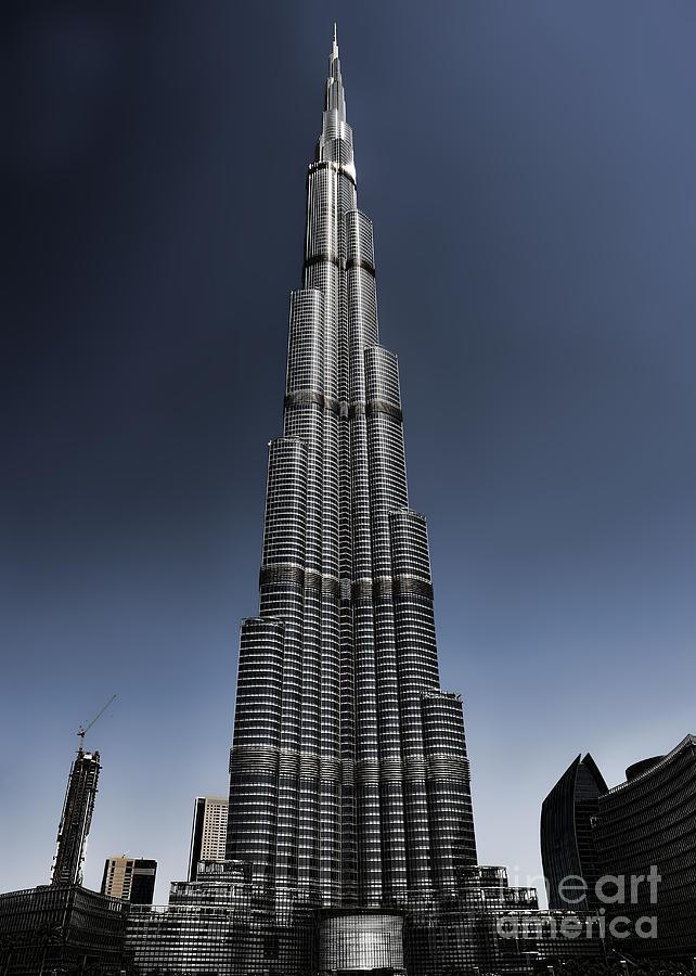 Dubai Photograph - Burj Khalifa 3 by Graham Taylor