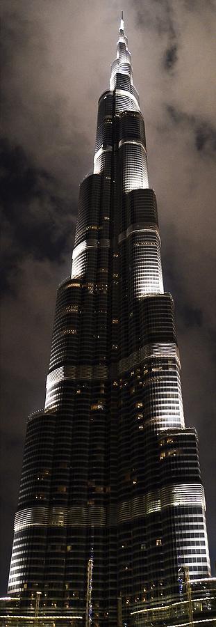 Burj Khalifa Photograph - Burj Khalifa by Corinne Rhode