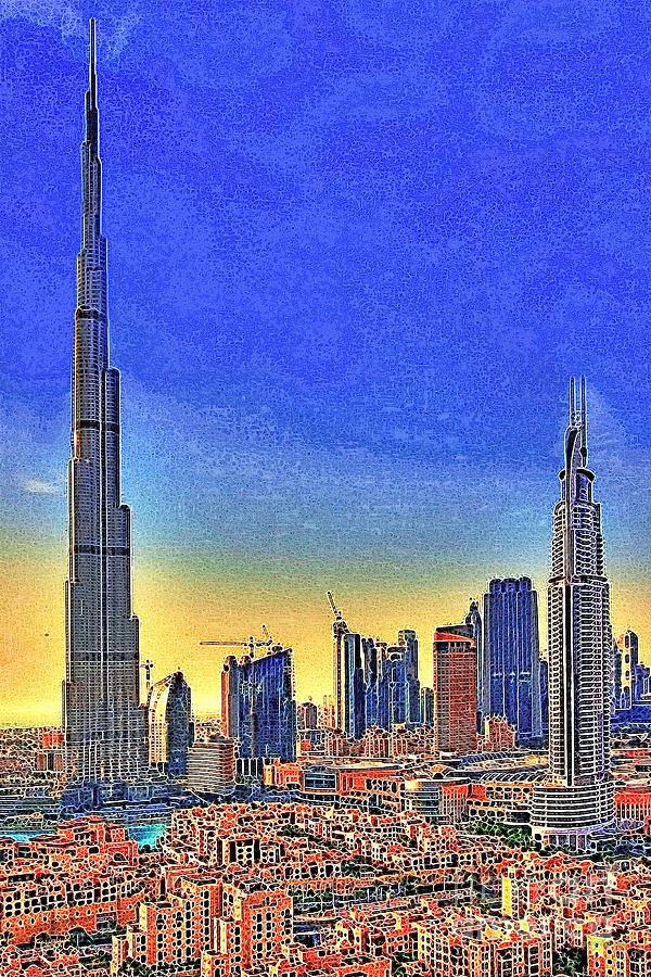 Burj Khalifa Photograph - Burj Khalifa Dubai United Arab Emirates 20130426 by Wingsdomain Art and Photography