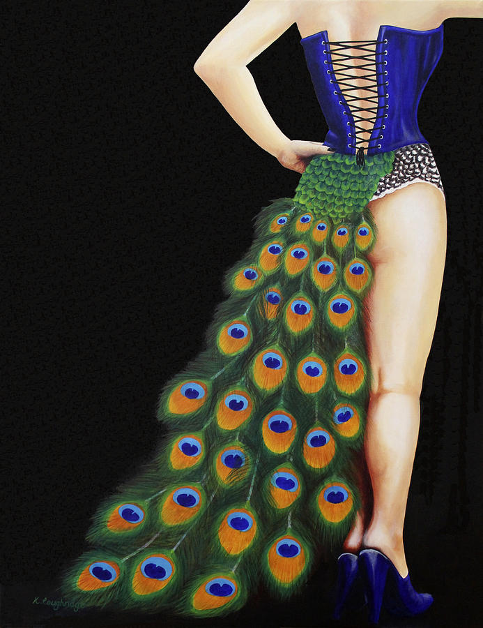 Burlesque Blue by Karen  Loughridge