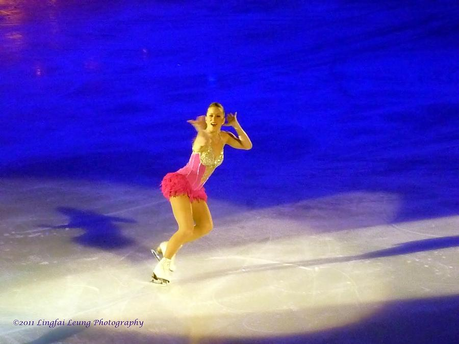 Figure Skater Photograph - Burlesque by Lingfai Leung