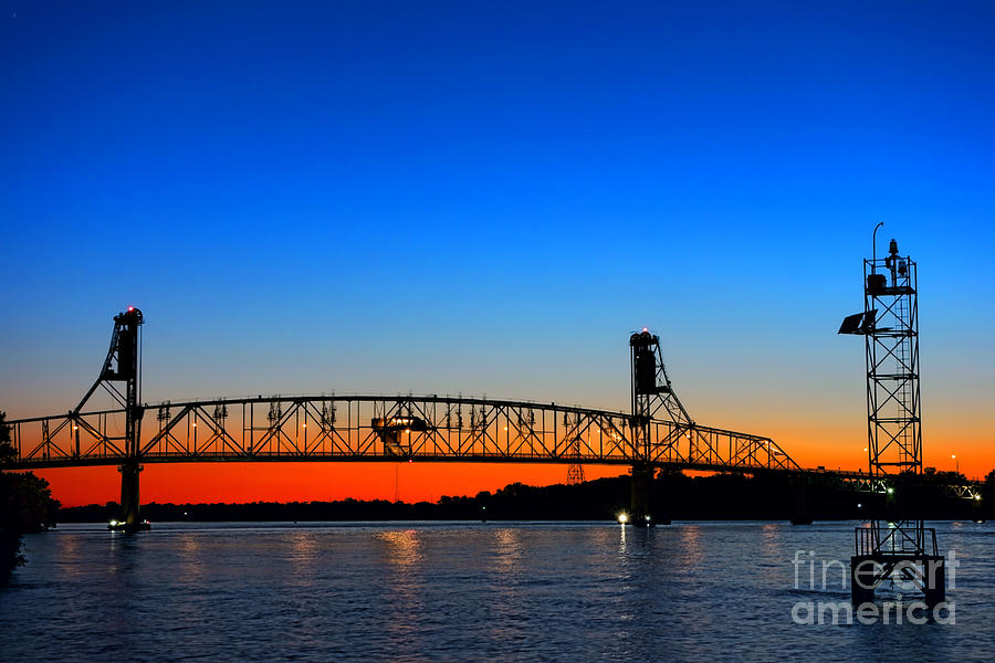 Bridge Photograph - Burlington Bristol Bridge by Olivier Le Queinec