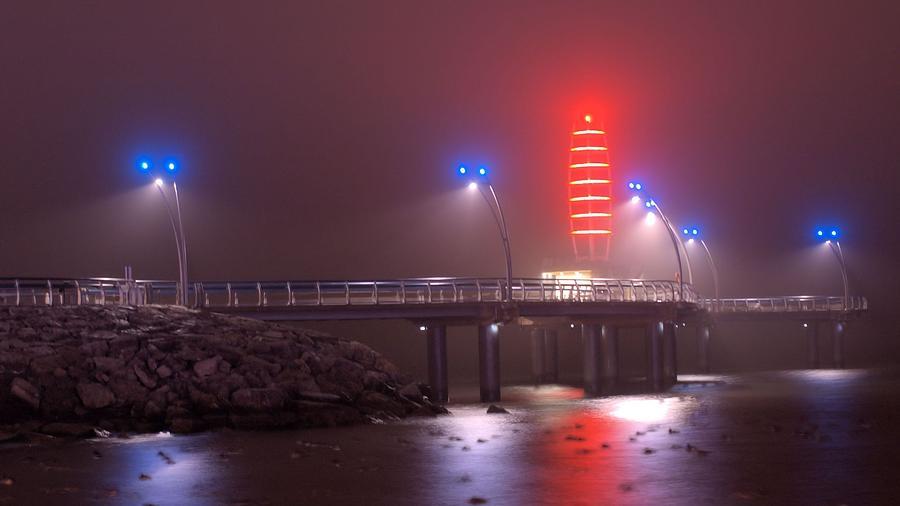 Pier Photograph - Burlington Pier by JR Calcutt