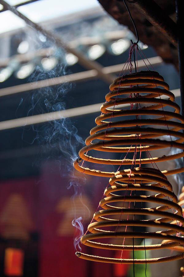Burn Incense And Pray Photograph by Greenlin