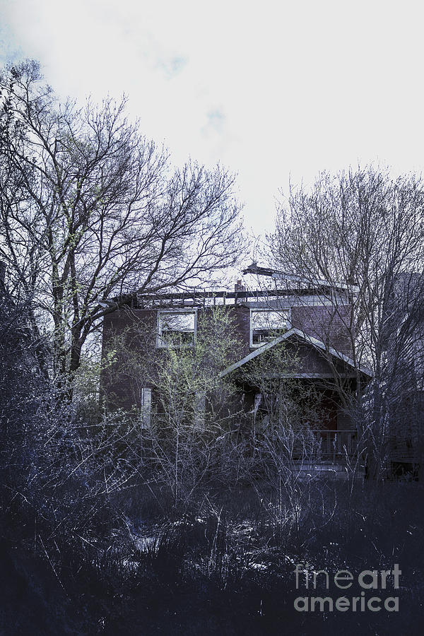 House Photograph - Burned Out by Margie Hurwich