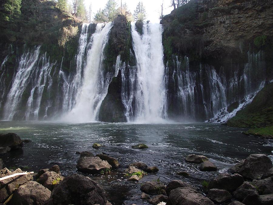 Burney Photograph - Burney Falls - The Eighth Wonder Of The World by James Rishel