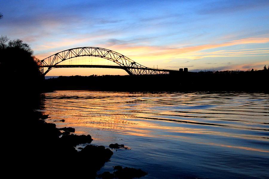 Cape Cod Photograph - Burning Bridge by MPG Artworks