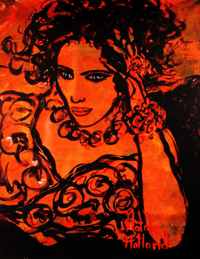 Burning Desire Painting - Burning Desire by Natalie Holland