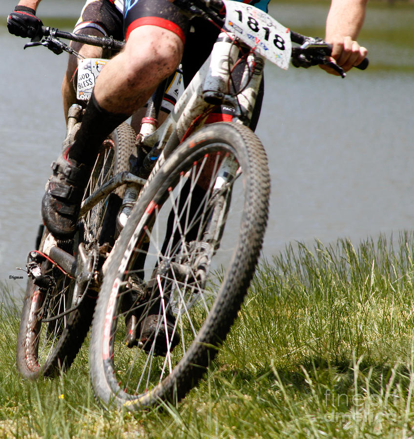 Cycling Photograph - Burning Mud  by Steven Digman